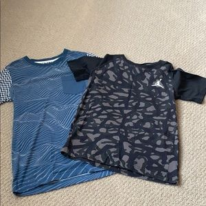 Boys M 10/12 Jordan shirts
